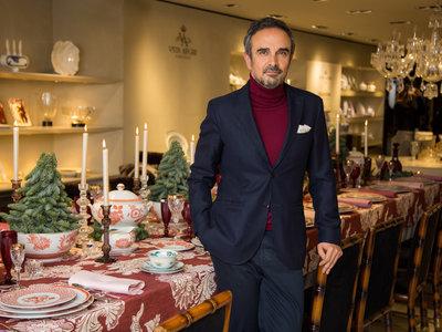 Descubre la propuesta de Lorenzo Castillo para vestir tu mesa estas navidades