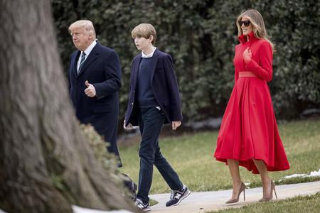 Melania Trump va al límite: le da like a un tweet en el que hablan mal de su matrimonio