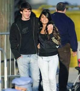 Antonella, la novia de Messi