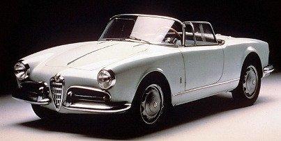 Giulietta 1955, el mejor Alfa Spider