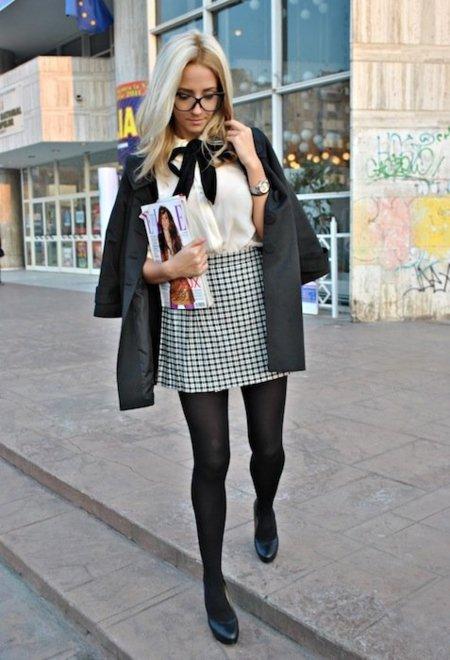¿Es Blair Waldorf? No, son chicas de street style