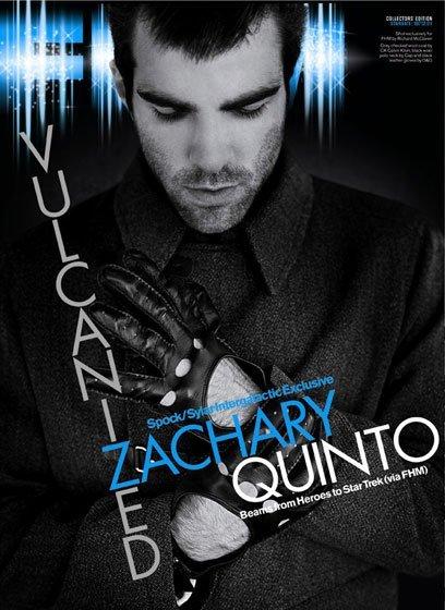 Zachari Quinto en FHM