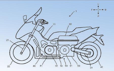 Una Yamaha TMAX eléctrica de rango extendido podría estar en camino, o al menos eso indican estas patentes