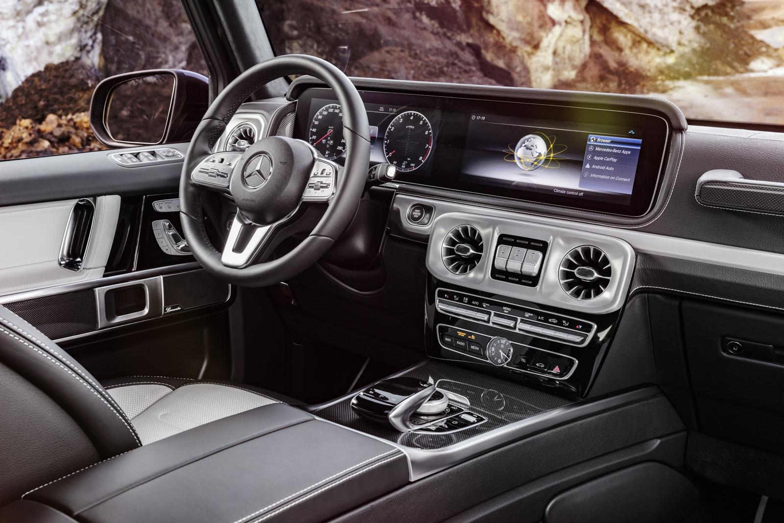 Foto De Mercedes Benz Clase G 2019 Interior 5 8