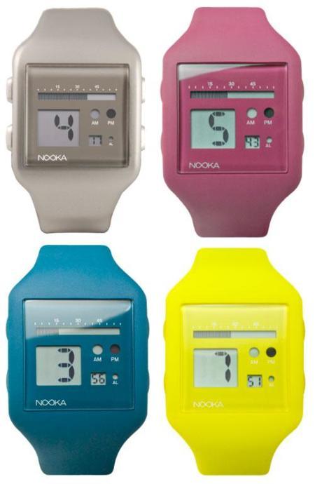 Nooka lanza nuevos colores para el reloj Zub Zoo Steel 20