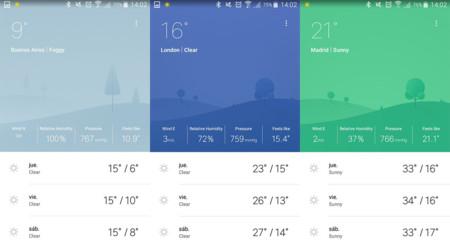 ¿Te gusta MIUI8? Weather Mate te muestra el tiempo con el mismo diseño elegante en cualquier Android