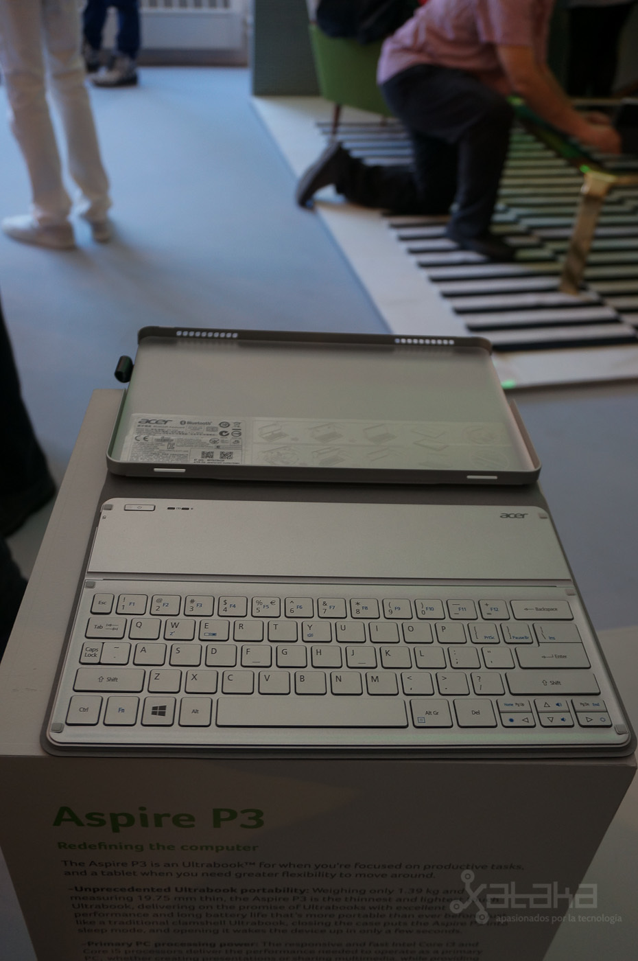 Foto de Acer Aspire P3, presentación en NY (6/7)