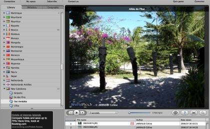 WorldPics, navegador de fotografías geolocalizadas