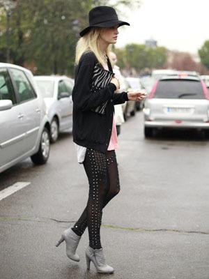 Heidi Mount, la enésima musa de Karl Lagerfeld
