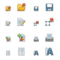 Galaxy, nuevos iconos para OpenOffice