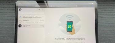 WhatsApp Web en iPad: cómo usarlo para tener WhatsApp en tu tablet