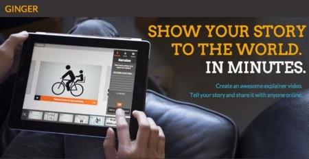 Adobe quiere subirse al carro de las videopresentaciones con Ginger, una aplicación para iPad en pruebas