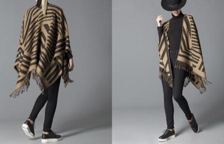Clon de la capa poncho de Louis Vuitton