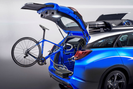 Honda Civic Tourer Active Life Concept: ideal para que vayas al Tour de Francia