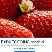 Expofooding Madrid: el nuevo Congreso Gastronómico internacional se celebrará en Madrid en mayo
