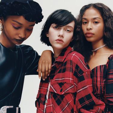 """El maquillaje de """"Euphoria"""" se traslada a los nuevos lookbooks de Zara, Stradivarius y Bershka"""