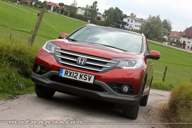 Honda CR-V, prueba dinámica