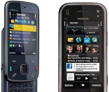 Nokia N86 y Nokia N97 con Orange en diciembre