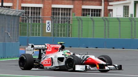 GP de Europa F1 2011: Hispania Racing F1 Team se mezcla con los Marussia Virgin Racing