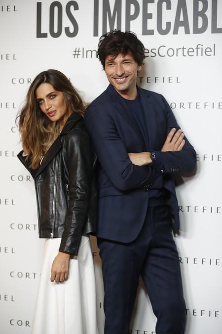 Sara Carbonero con un look sobresaliente de Cortefiel perfecto para el invierno