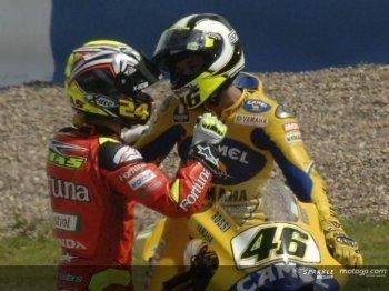 ¿Rossi con problemas?