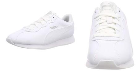 ¿Buscas unas zapatillas completamente blancas? las zapatillas Puma Turin II están en Amazon desde 22,67 euros