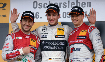 Christian Vietoris vence en una caótica carrera en Oschersleben