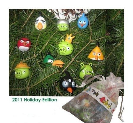 Decoración de Navidad de Angry Birds