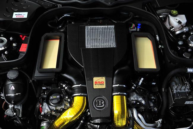 Brabus 850 6.0 Biturbo 'iBusiness', motor