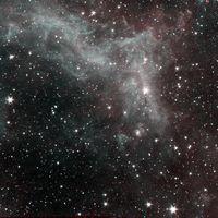Antes de terminar su misión, el telescopio Spitzer sacó esta última e impresionante imagen de la nebulosa de California