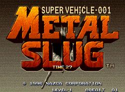 [TGS 06] Metal Slug aparecerá en XBL