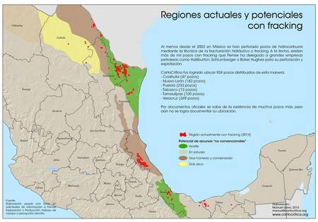 Mapa Fracking Mexico Credit Cartocritica 0