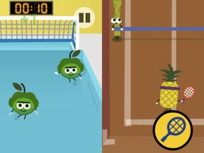 El doodle de los Juegos Olímpicos son 7 geniales minijuegos protagonizados por frutas