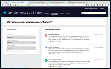 Resultados De La Busqueda Complementos Para Firefox