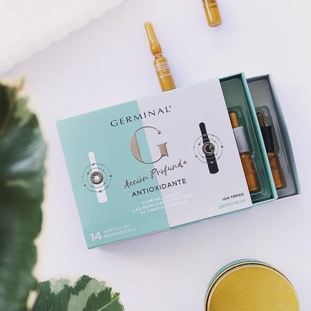 germinal antioxidante dia y noche ampollas