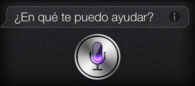 Pantallazo de Siri