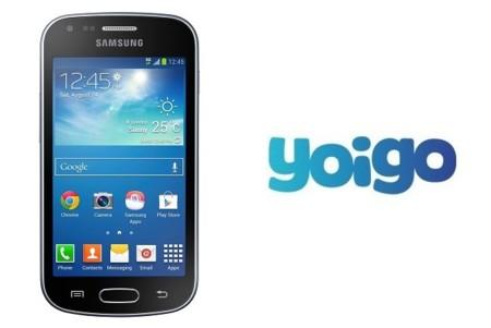 Precios de Samsung Galaxy Trend Plus con Yoigo