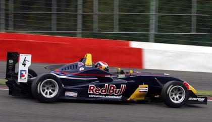 Alguersuari sale líder de Spa Francorchamps