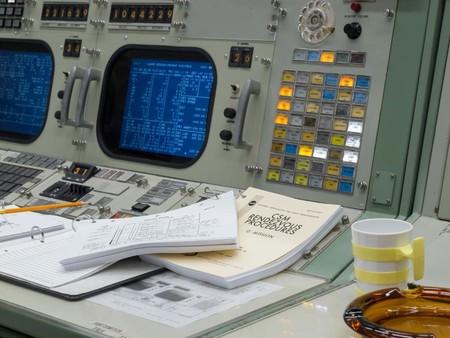 Nasa Centro De Control Apollo 4