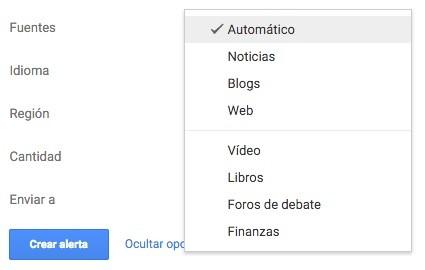 Google Alerts Fuentes Noticias Alertas