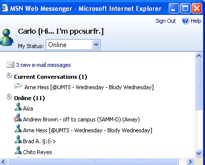 Windows Live Messenger: Clientes oficiales