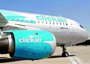 Mañana podrían ponerse a la venta los primeros billetes de Clik Air