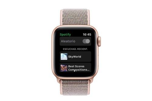 Spotify para Apple Watch ya se encuentra disponible en la App Store, y para todo el mundo