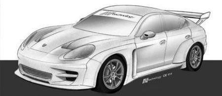 Porsche Panamera S, también en competición