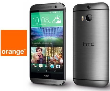 Precios HTC ONE (M8) con Orange