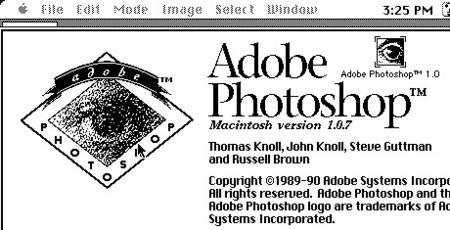 photoshop 1.0 adobe