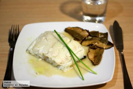 Lomo de bacalao Skrei confitado: receta de Semana Santa