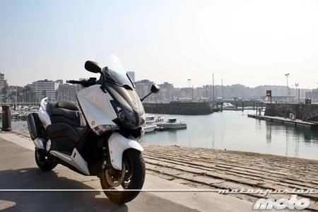 Yamaha T-MAX 530, prueba (características y curiosidades)