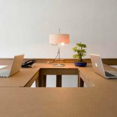 Foto 5 de 7 de la galería espacios-para-trabajar-una-oficina-de-carton en Decoesfera