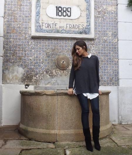 Y Sara Carbonero espera... otro mini-Casillas